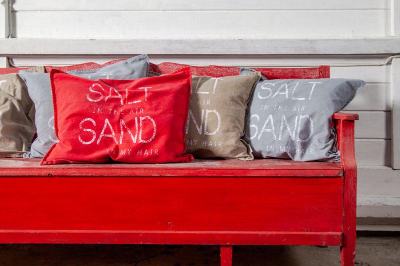 Salt Kuddfodral Sand