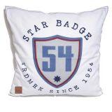 Badge Kuddfodral Vit