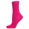 Ladies Sock Plain Cerise
