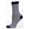 Ladies Sock Slim Stripe Marin