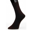 Men's Sock Plain Mörkbrun