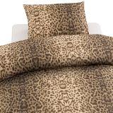 Påslakan Leopard Brun