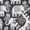 Elefant Tyg Brun Barntyger