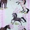 Tyg Hästar