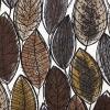 Leaf Tyg Brun/Grå