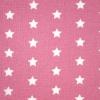 Tyg Stjärnor Rosa/Vit