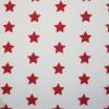 Tyg Stjärnor Vit/Röd
