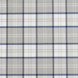 Agnes Textilvaxduk Rutig Blå