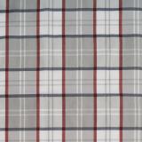 Agnes Textilvaxduk Rutig Röd