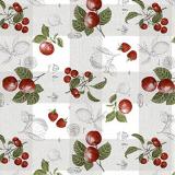 Äpplen Vaxduk Rutig