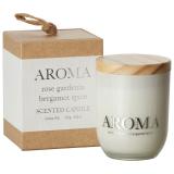 Aroma Doftljus Rose, Gardenia & Bergamot