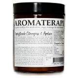 Aromaterapi Doftljus Citrongräs & Apelsin