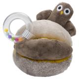 Baby Owls Aktivitetsboll med Skallra