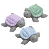 Baby Turtle Badleksak Multi 3-Delar