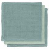 Jollein Bambu Tvättlappar Grön 3-pack