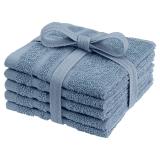 Basic Tvättlappar Blå 5-pack
