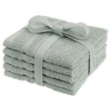 Basic Tvättlappar Grön 5-pack