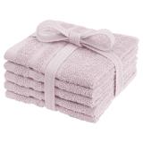 Basic Tvättlappar Rosa 5-pack