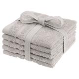 Borganäs Basic Tvättlappar Sand 5-pack