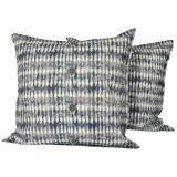 Batikprick Kuddfodral Blå