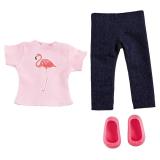 Bfriends Dockkläder Flamingo