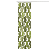 Blader Panelgardin Grön
