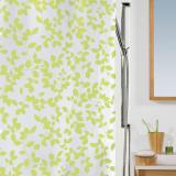 Blatt Duschdraperi Grön
