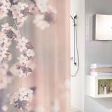Blossom Clove Duschdraperi Rosa