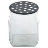 Bluebell Vas Svart/Glas