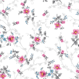 Blumen Vaxduk Blommig Rosa