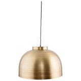 Bowl Lampa Mässing Stor