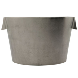 Buck Vinkylare Oval Silver