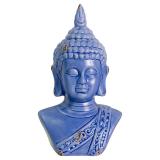 Buddha Byst Blå