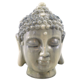 Buddha Huvud Prydnad Marmor