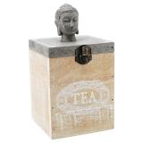 Buddha Teburk Grå/Trä