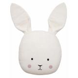 Bunny Prydnadskudde Vit