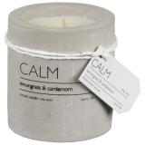 Calm Doftljus Betong Lemongrass & Cardamom