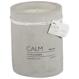 Calm Doftljus Betong Mint & Eucalyptus