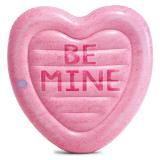 Candy Heart Badmadrass Rosa