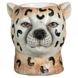 Cheetah Dekoration Brun
