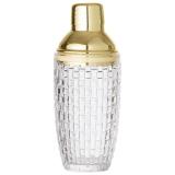 Cocktailshaker Glas Guld
