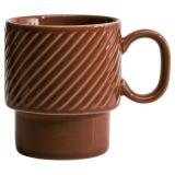 Coffee & More Kaffemugg Terrakotta