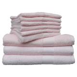 Cotton Club Handduk Rosa