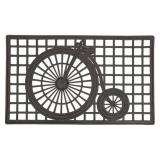 Cykel Dörrmatta Svart