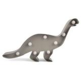 Dinosaurie LED Vägglampa Grå