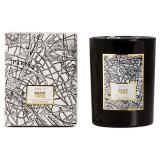 Doftljus Victorian Maps Paris Svart
