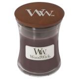 Doftljus WoodWick Suede & Sandalwood