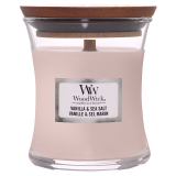 Doftljus WoodWick Vanilla & Sea Salt