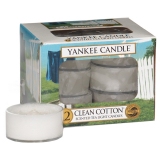 Doftvärmeljus Yankee Candle Clean Cotton