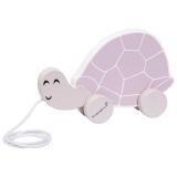 Bloomingville Mini Dragdjur Sköldpadda Rosa Trä